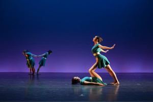 """""""Homeward,"""" choreographed by Katie Ingebresten, was one of the softest and most emotional pieces of the night. COURTESY PHOTO / GEOFF WADE"""