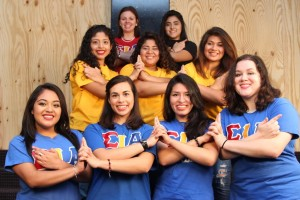 """""""We center around the empowerment of women, like a lot of sororities do, but we also focus on expanding Latino cultural awareness and giving an accurate representation of what Latino culture is,"""" Benavides said. COURTESY PHOTO / BETA DELTA CHAPTER OF HERMANDAD DE SIGMA IOTA ALPHA, INC."""