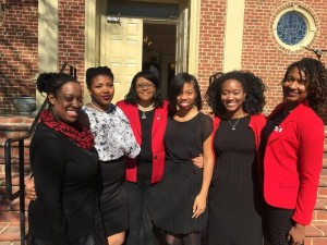 """""""Because our chapter is so small, everyone wears many different hats and everyone plays a big role,"""" Bowins said. COURTESY PHOTO / MU UPSILON CHAPTER OF DELTA SIGMA THETA SORORITY, INC."""