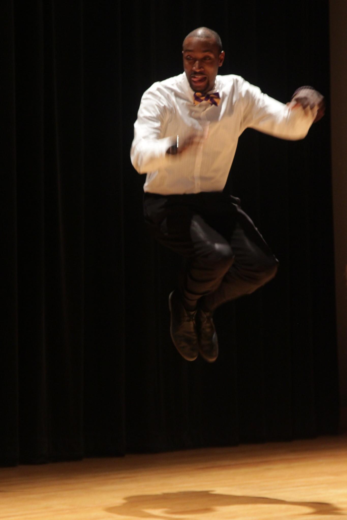 Omega Psi Phi's high-energy stroll placed third on Friday. COURTESY PHOTO / TATIANA LISCHEN BULL