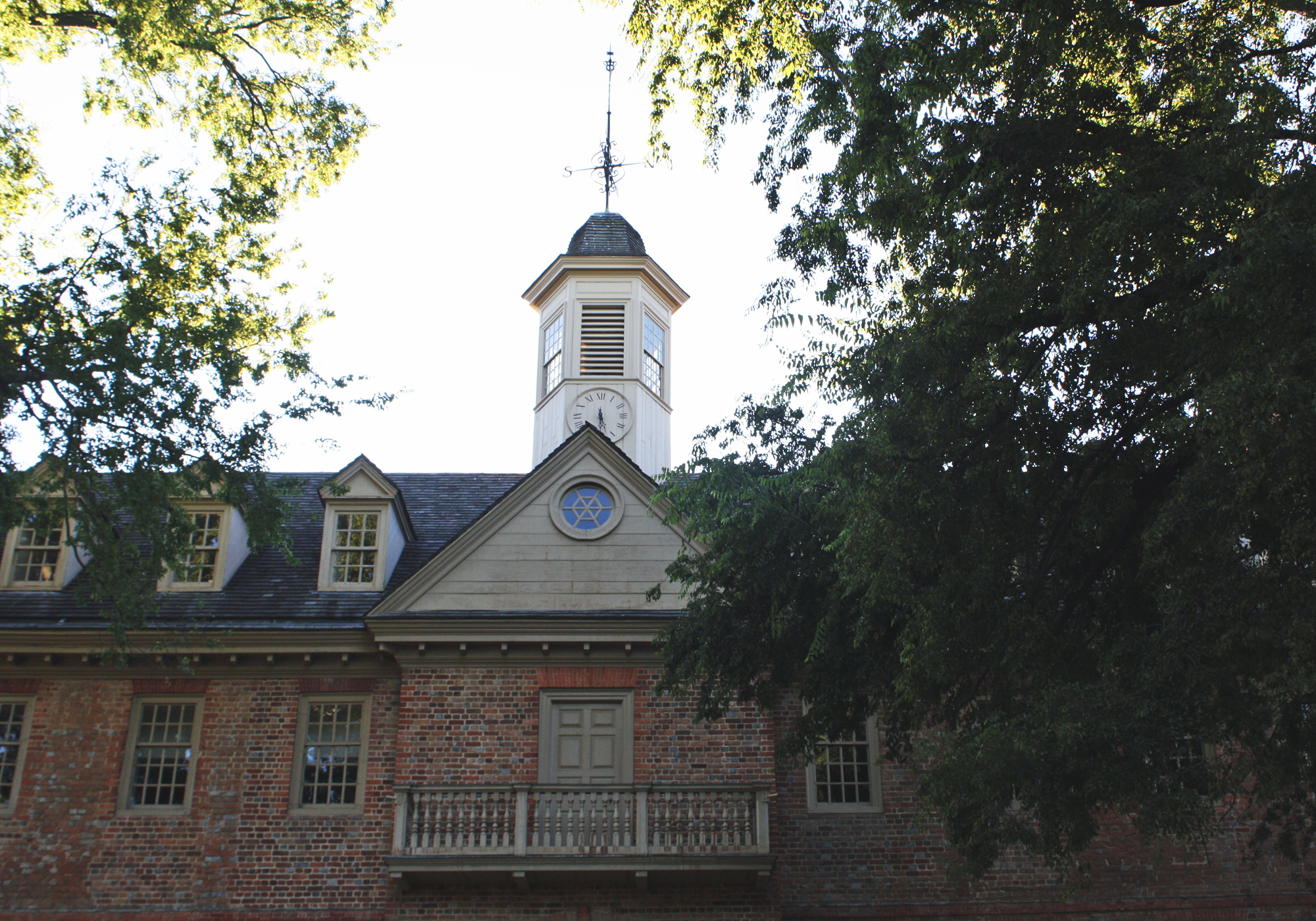 The Wren is the country's oldest academic building and is still in use, housing religion and philosophy classes.