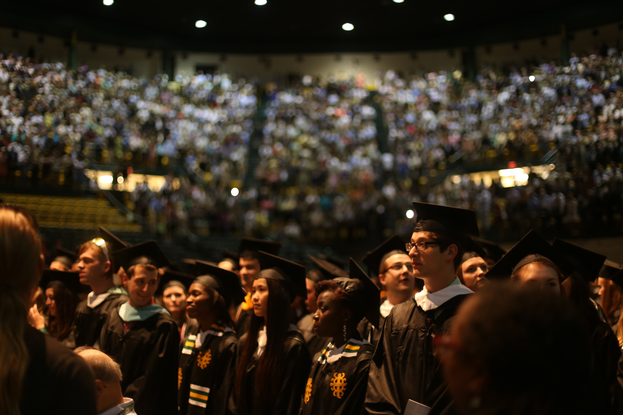 More than 2,000 degrees were conferred at The College of William and Mary's 2016 Commencement ceremony. TUCKER HIGGINS / THE FLAT HAT