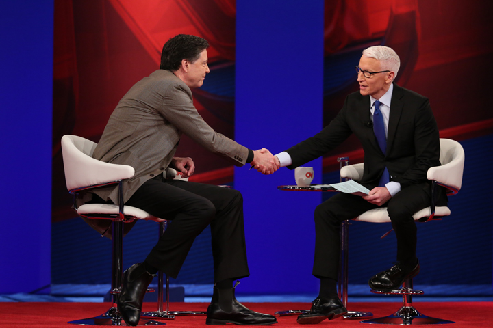 Pbk Transforms For Cnn Town Hall With Anderson Cooper James Comey 82 Flat Hat News